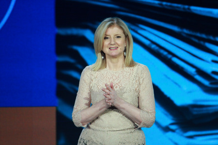 26798435 - atlanta, ga, usa, march 5, 2014 - the huffington post media group president arianna huffington makes speech at microsoft convergence conference in georgia congress center on march 5, 2014 in atlanta, ga