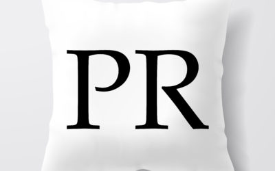 The PR Pillow Illustration